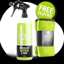 Waterless Car Wash & Wax